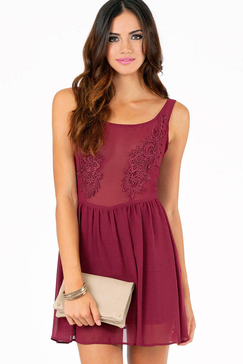 Shayna Sheer Babydoll Dress