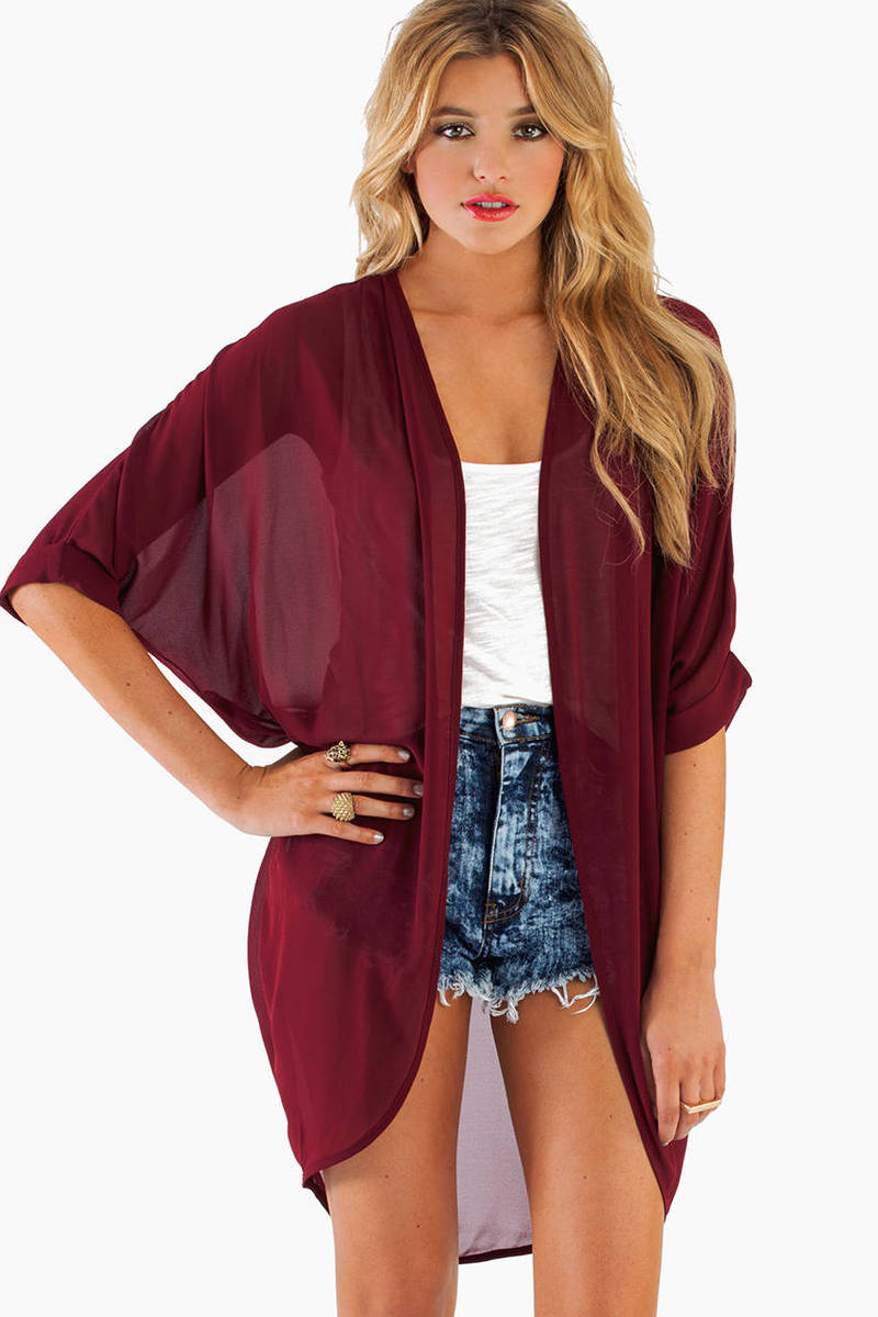 Sheer Genius Kimono