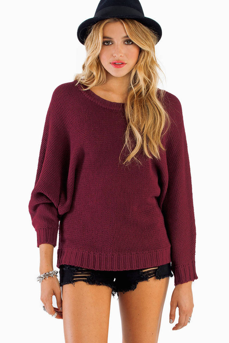 Stand Up Tall Sweater