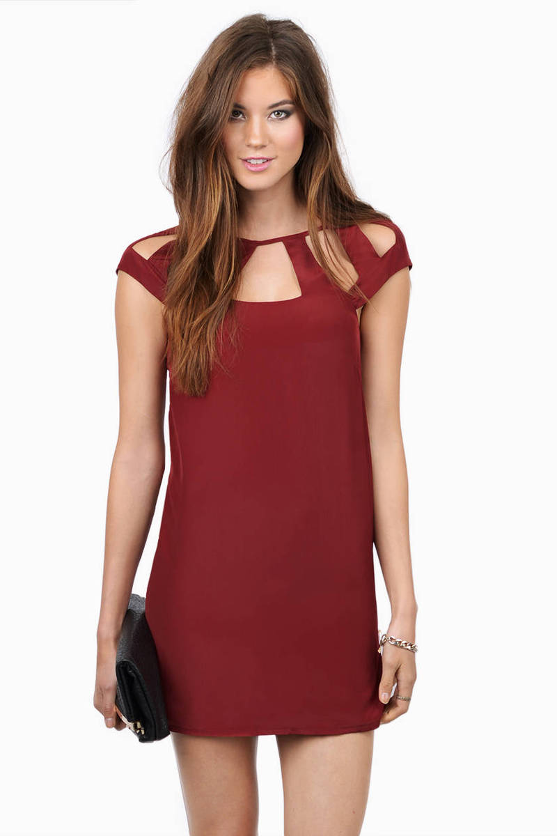 Strapped In Shift Dress