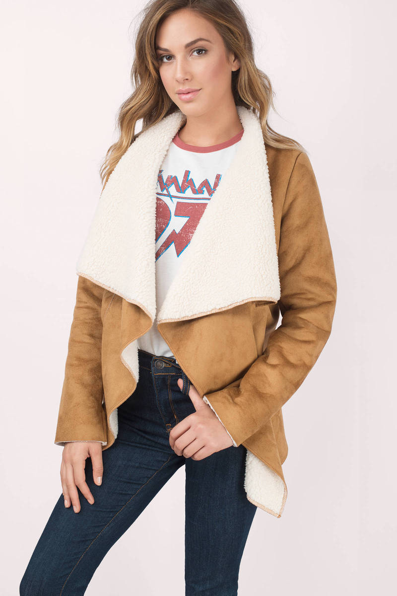 Chills Camel Jacket