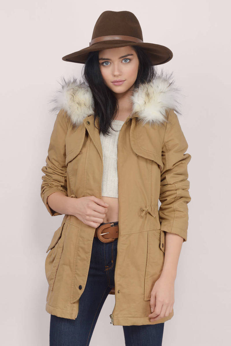 size 40 new season search for newest Cold Valley Anorak Coat
