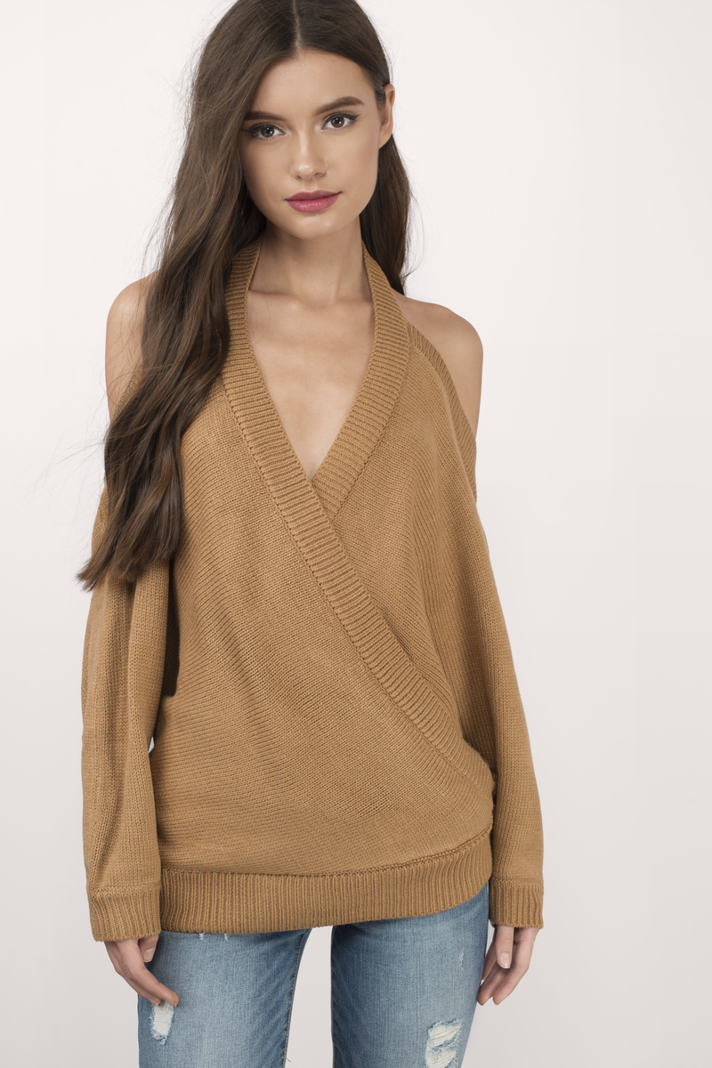 Evana Camel Sweater