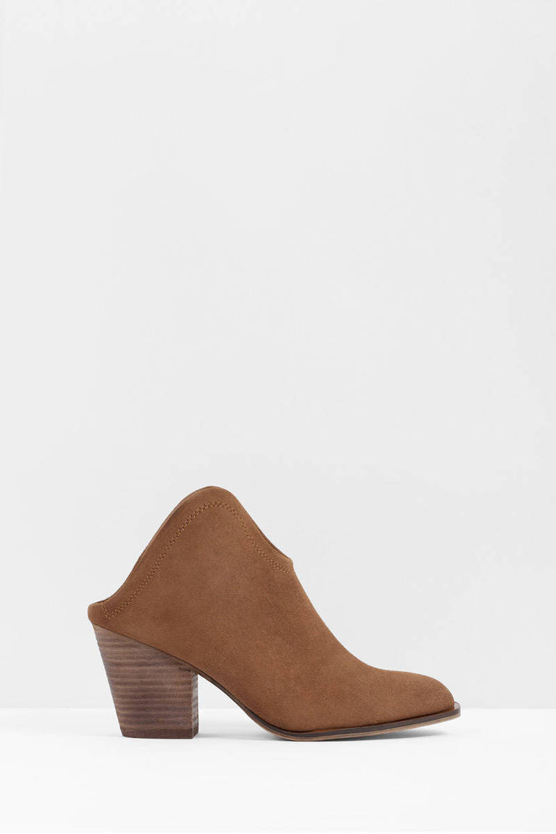 Chinese Laundry Chinese Laundry Kelso Camel Suede Mules