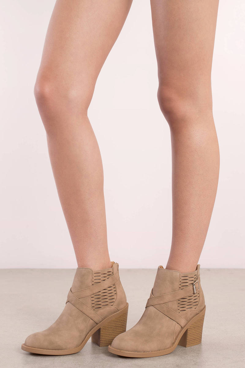 Marcel Camel Ankle Booties