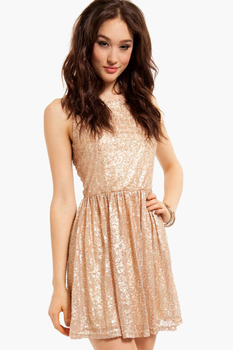 Steal the Night Sequin Dress