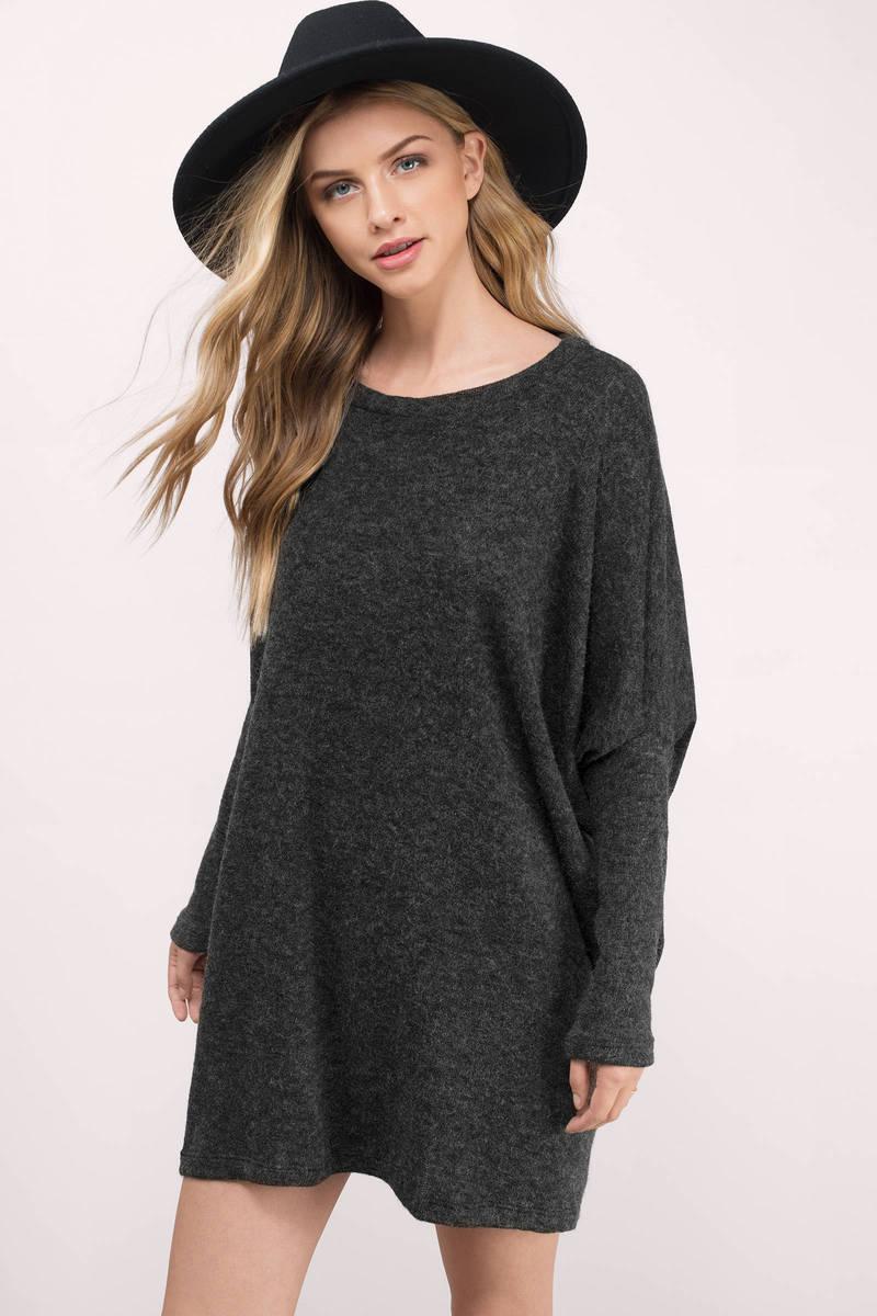 Grey Sweater - Long Sleeve Sweater