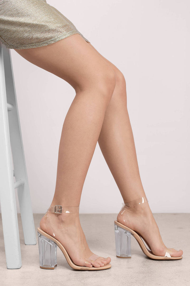 Kloude Clear Heels