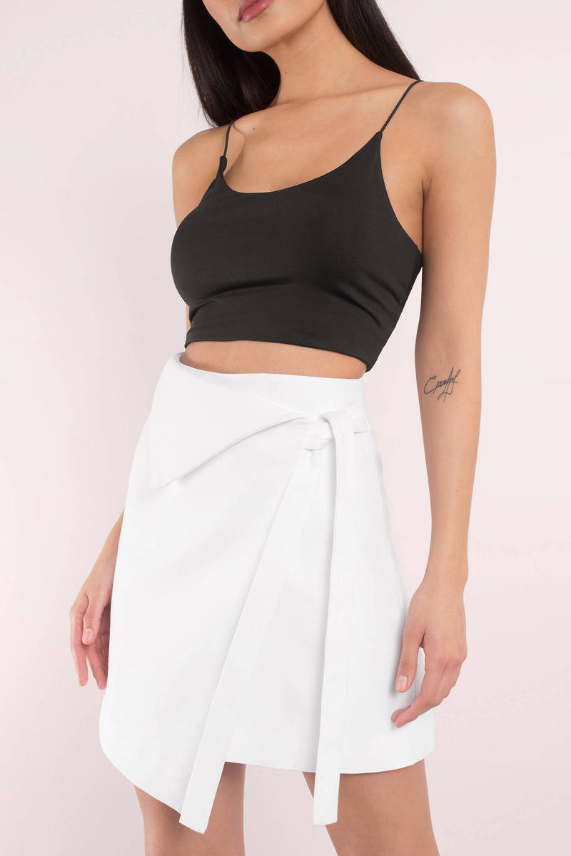 Finders Keepers Finders Keepers Arabella Cloud Asymmetric Skirt