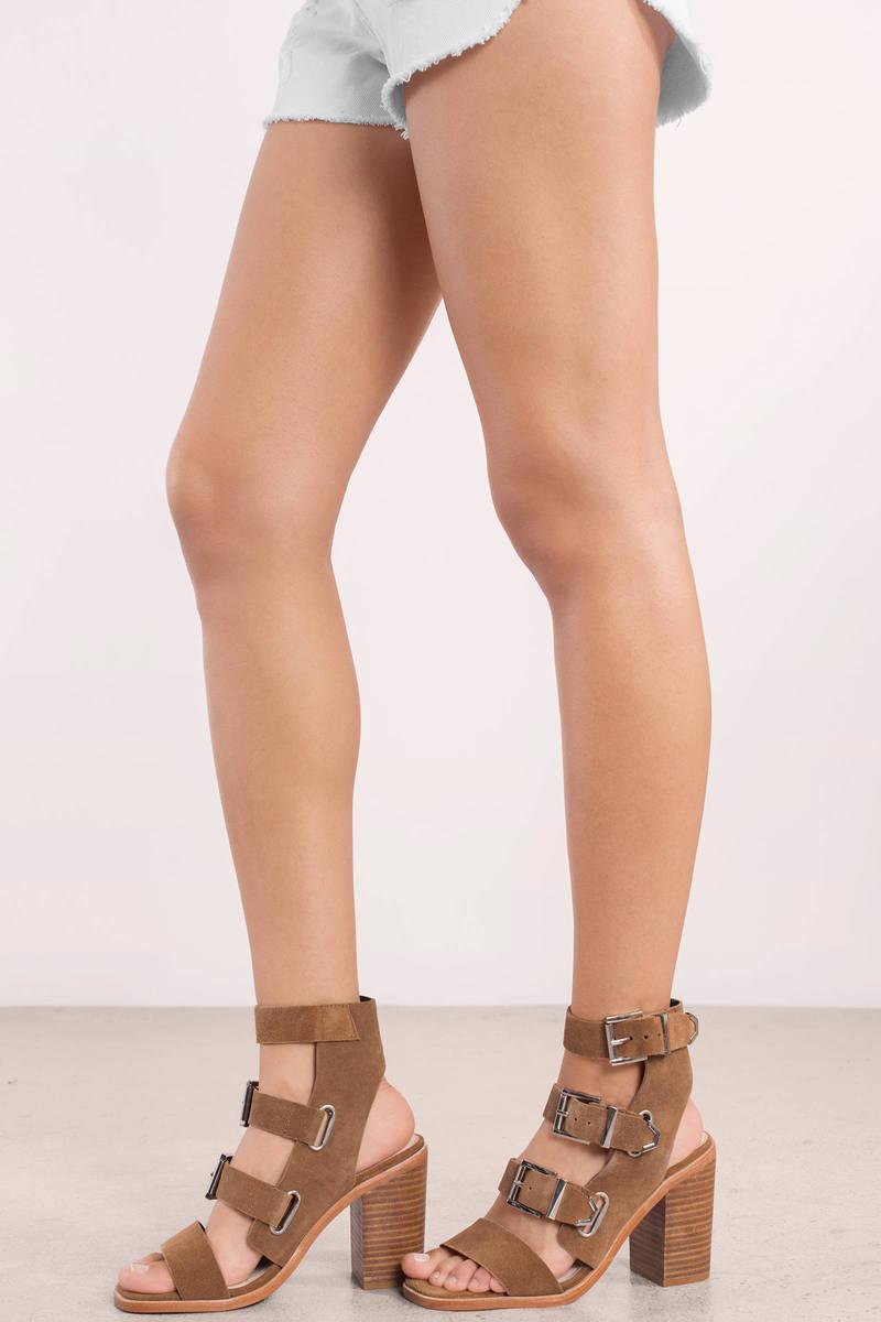 Sol Sana Jona Cognac Strappy Heel
