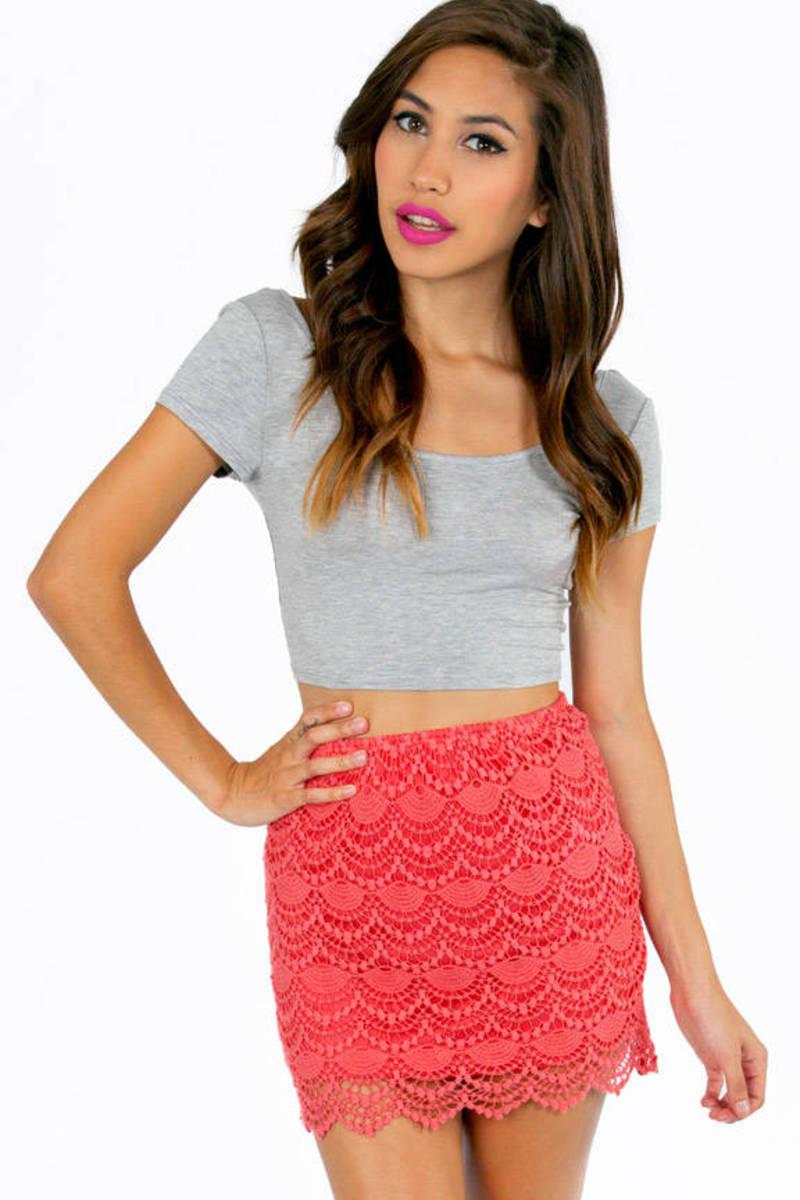 Fannie Crochet Skirt