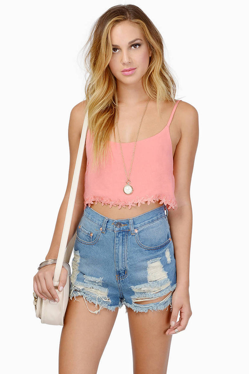 Hazel Crop Top