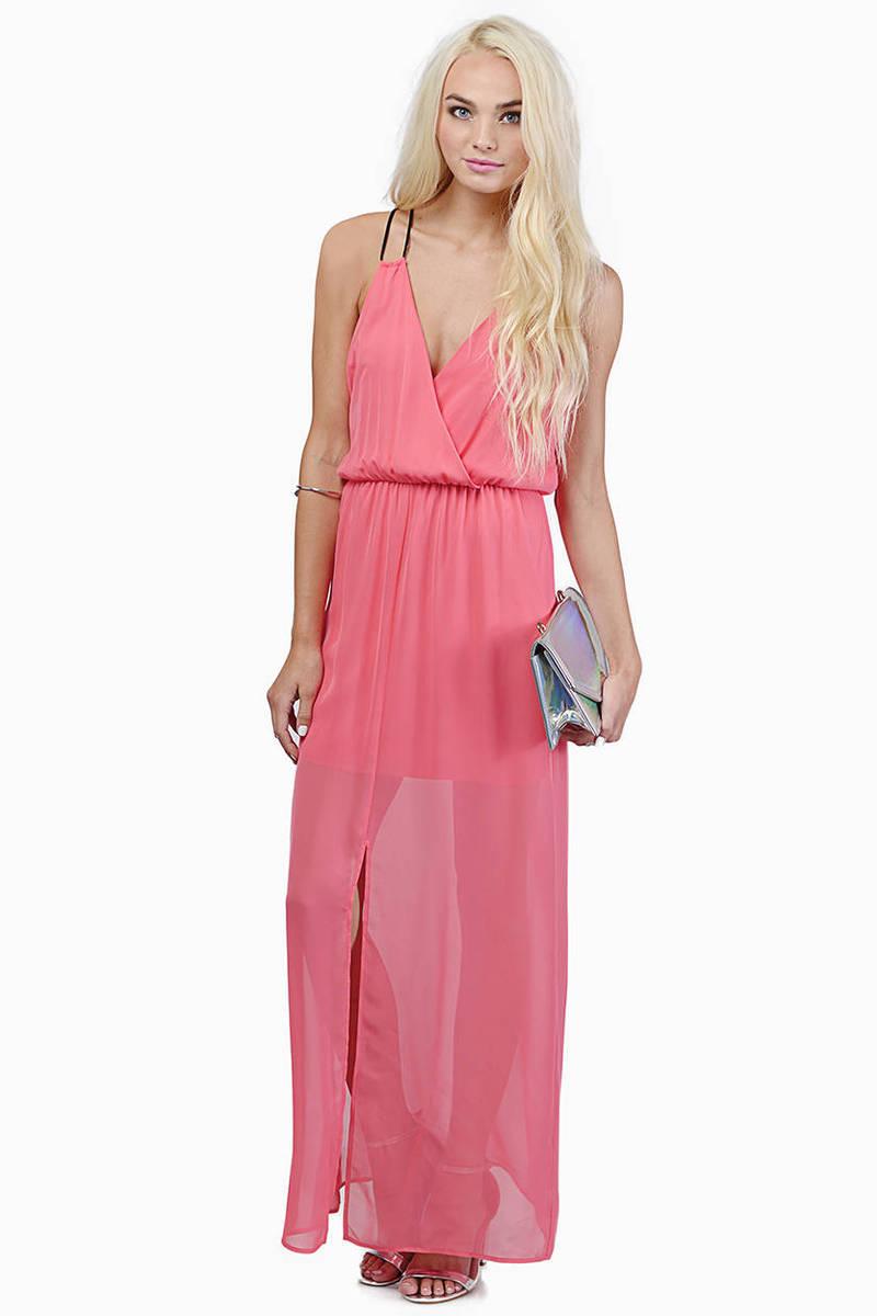 Swan Lake Maxi Dress