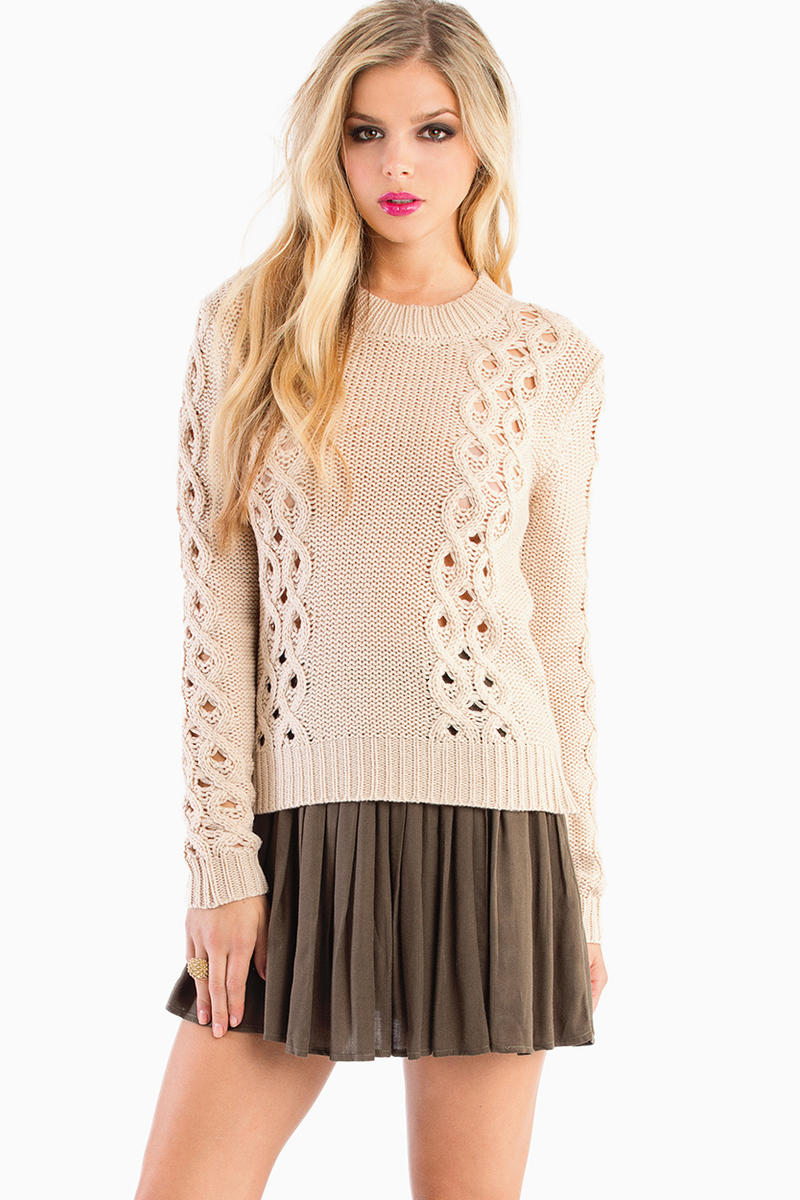 Ayden Crochet Sweater