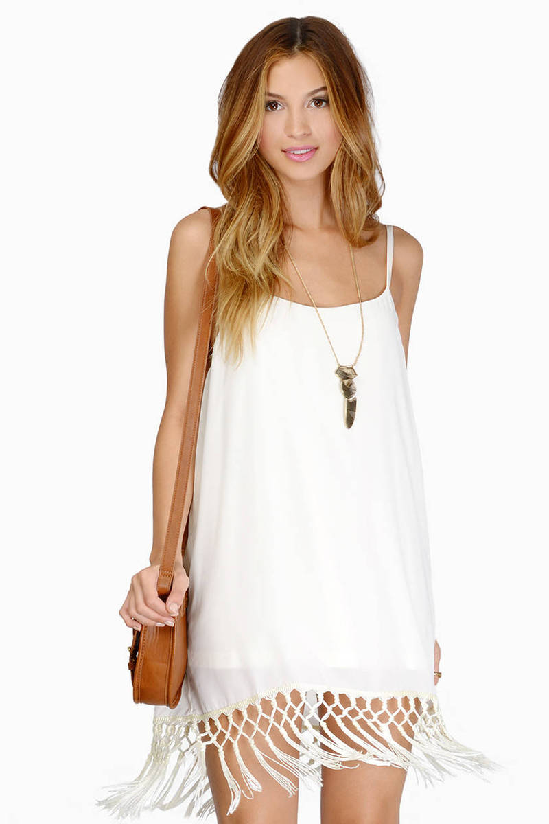 Back To Twenties Cream Dress