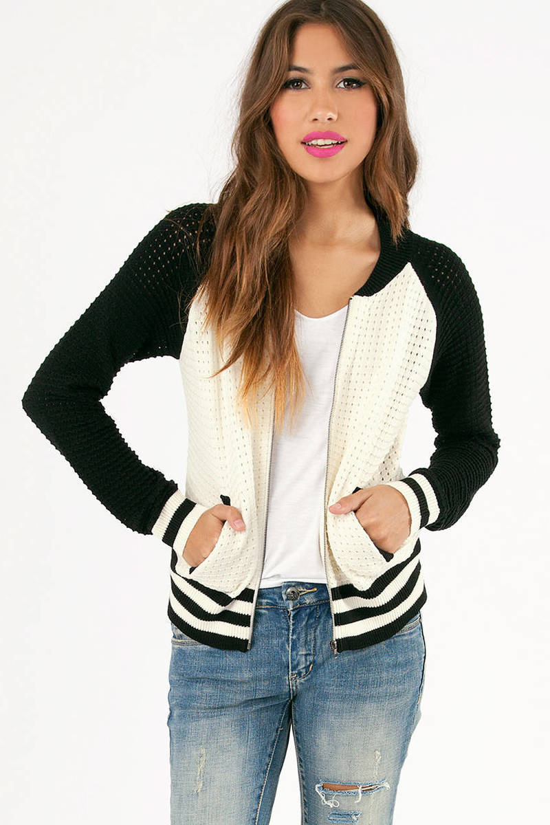 Corey Crochet Varsity Jacket