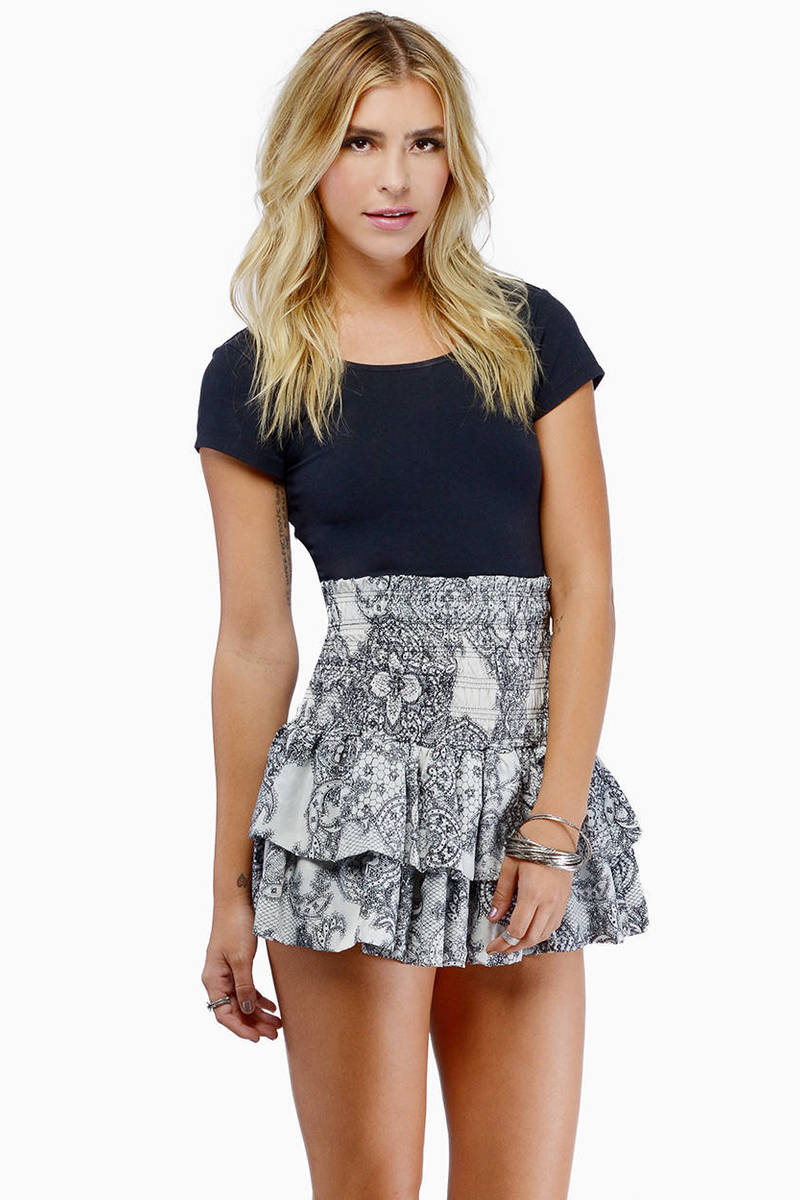 Like It Ruffled Skirt