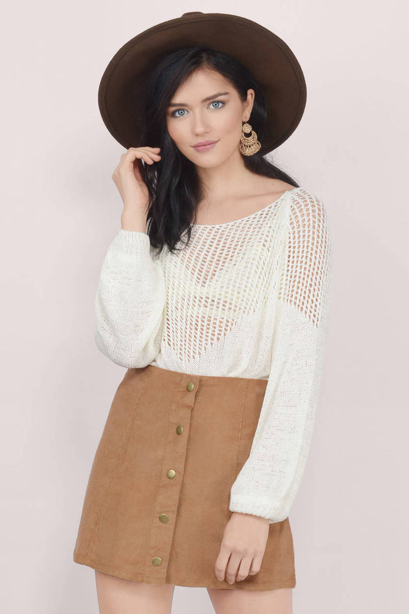 Braelyn Taupe Sweater