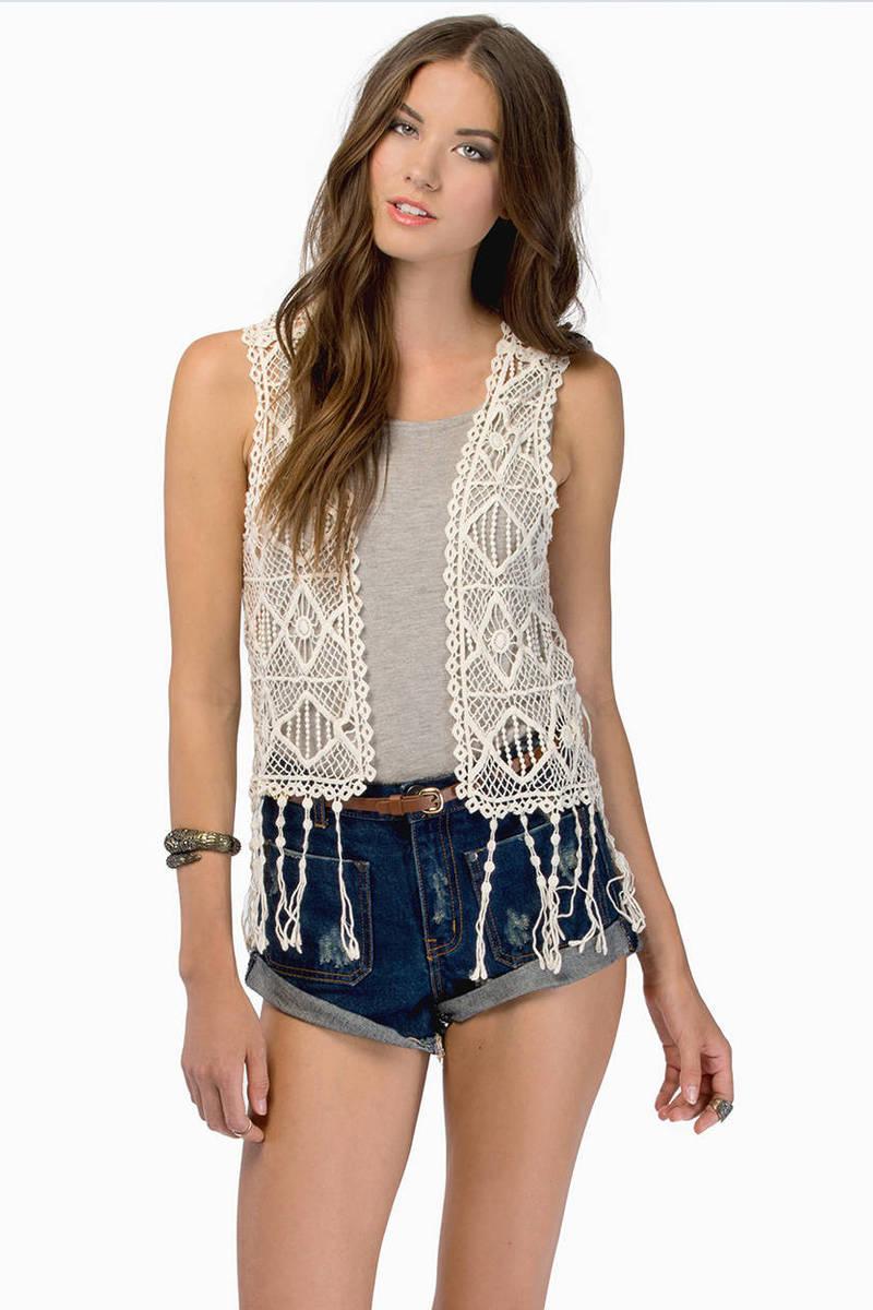 Gypsy Soul Cream Vest