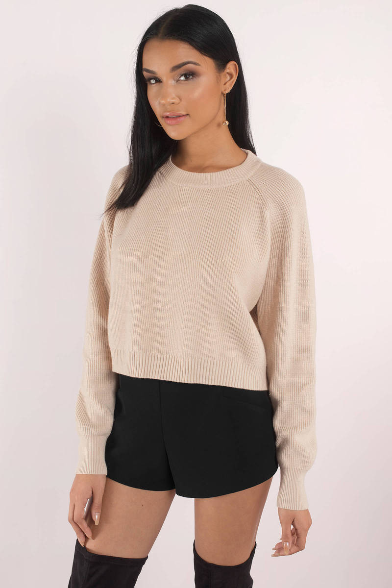 Knit While You're Ahead Cream Sweater