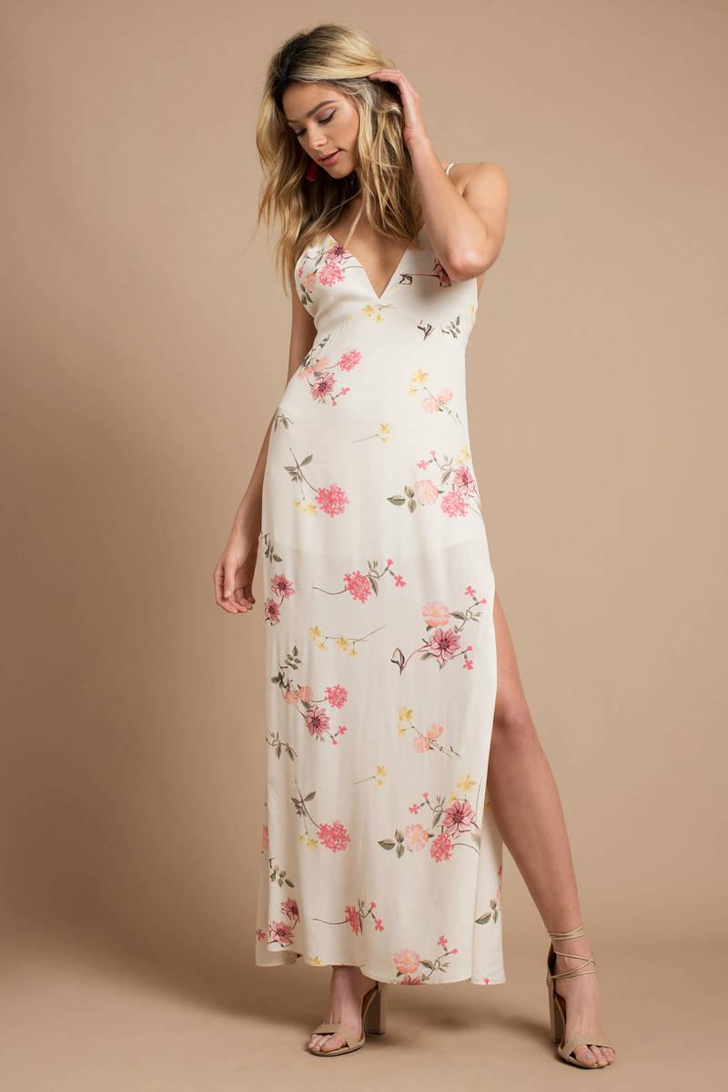 Odile Floral Maxi Dress