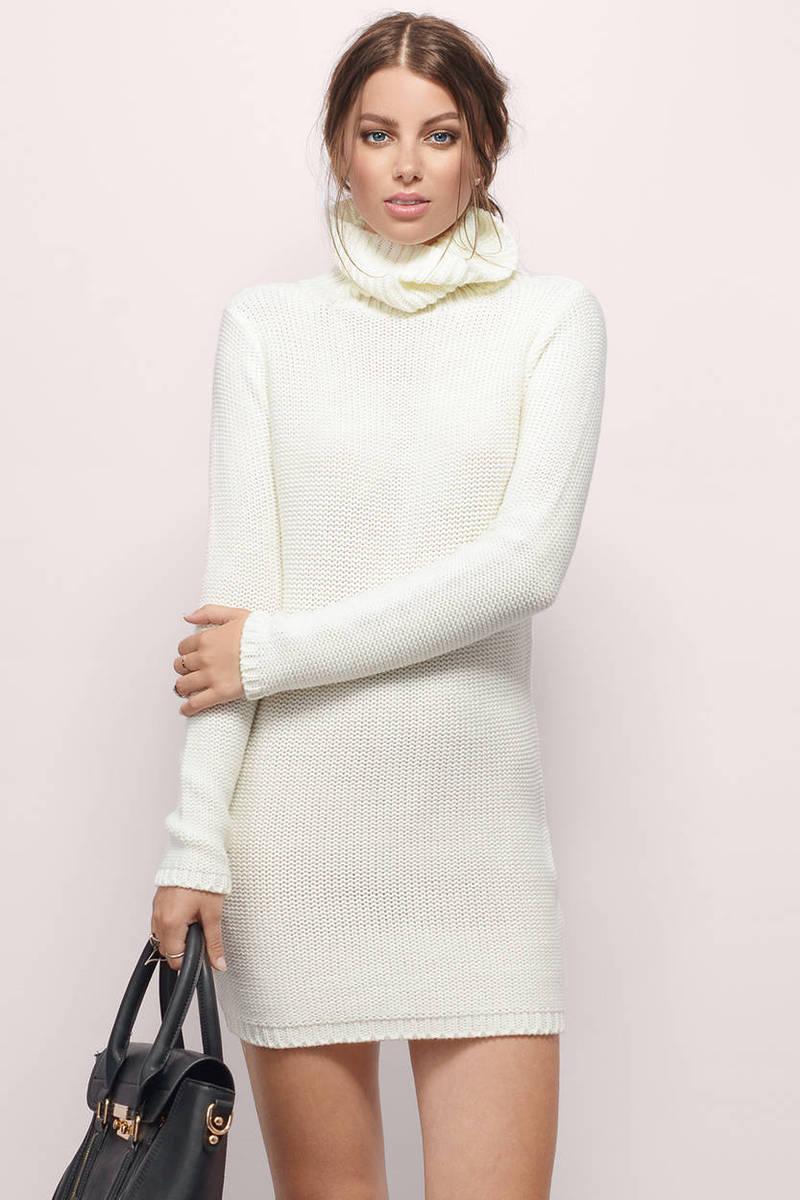 Nestled Up Sweater Dress
