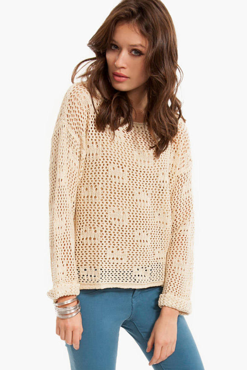 New Depths Knit Sweater