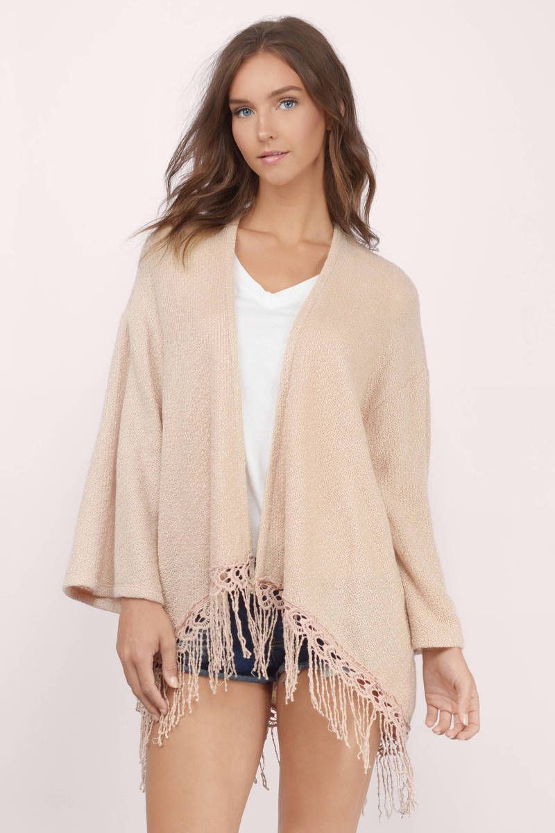 On The Fringe Cardigan
