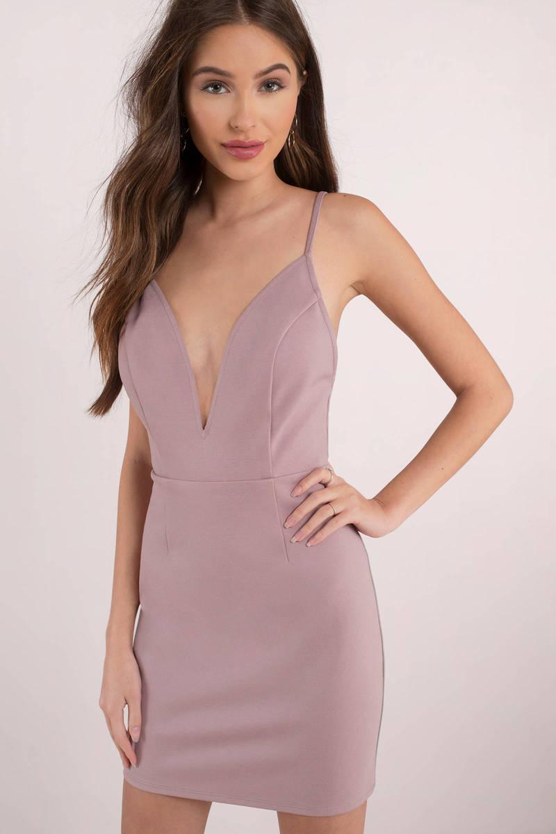 Sadie Black Bodycon Dress