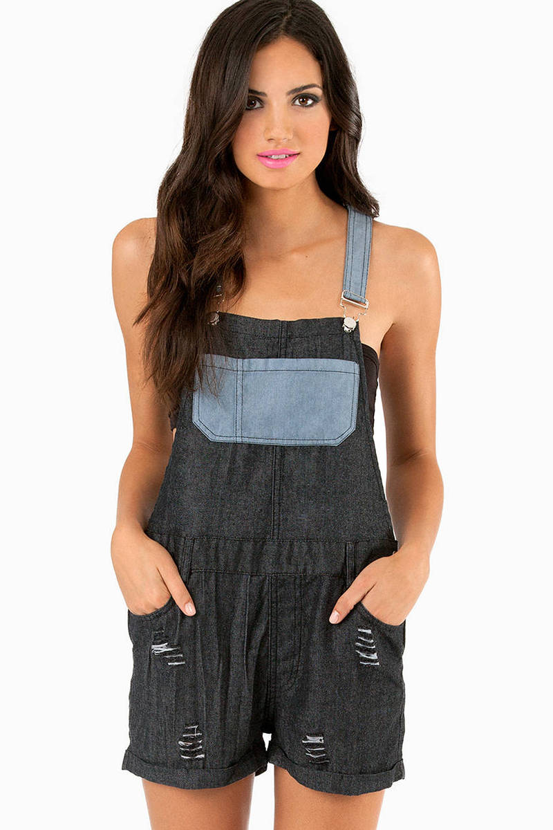 Rehab Clothing Around The Block Overalls