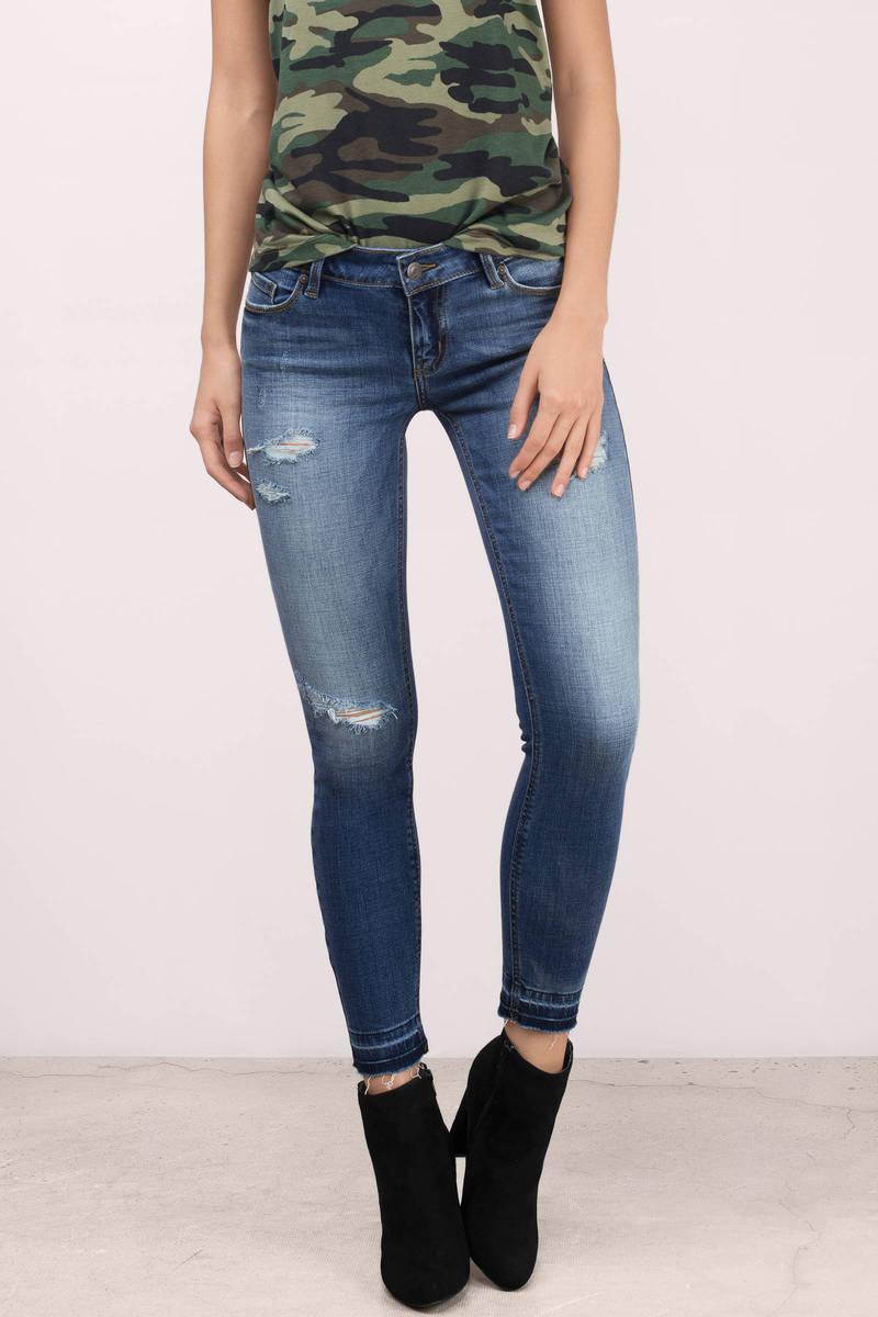 Kiki Dark Wash  Denim Jeans
