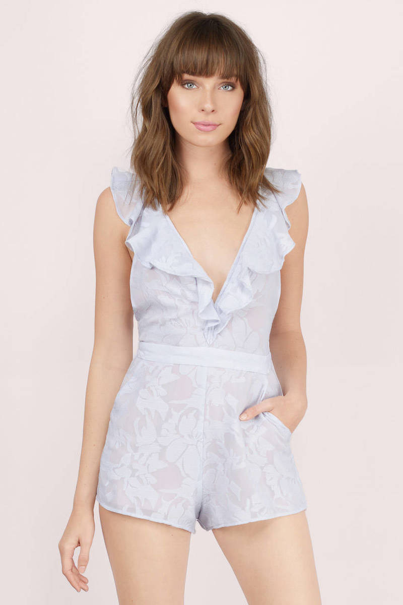 The Jetset Diaries The Jetset Diaries Wanderlust Dusty Lavender Floral Romper
