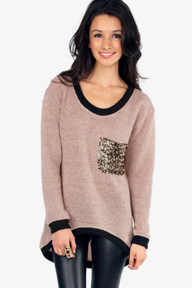 Pocketful of Glitz Sweater