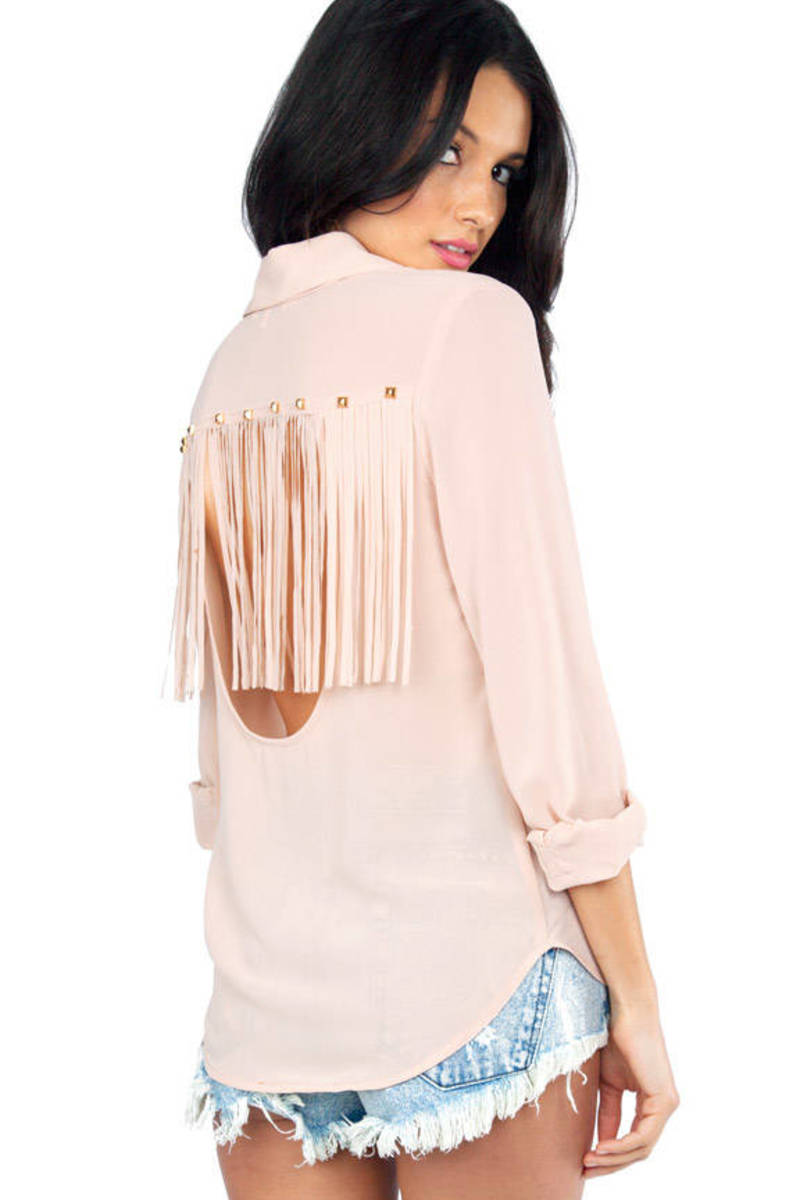 High Noon Button Up Blouse
