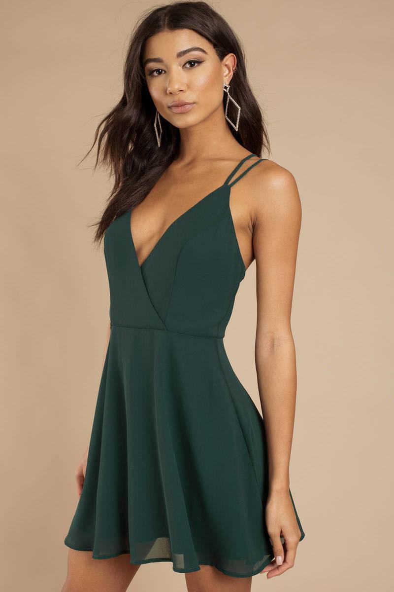Emerald Green Dress Casual