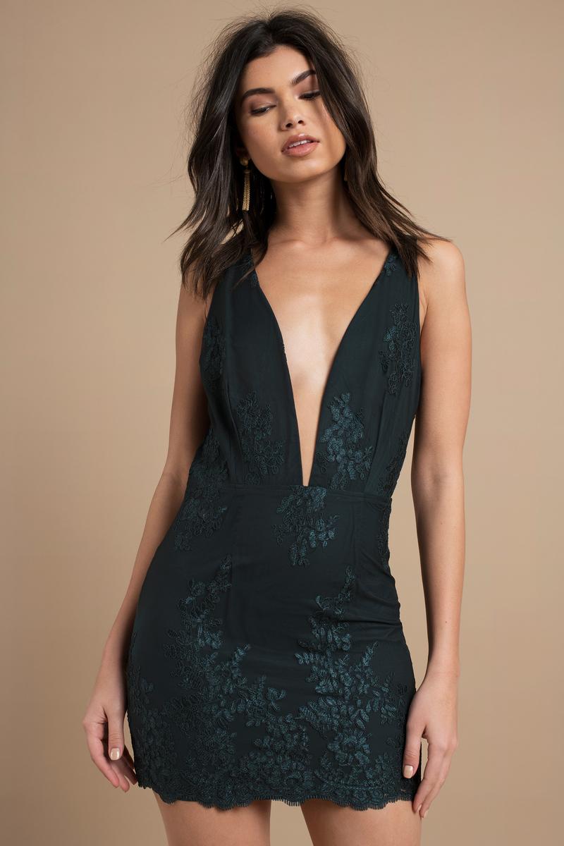 Emerald Bodycon Dress