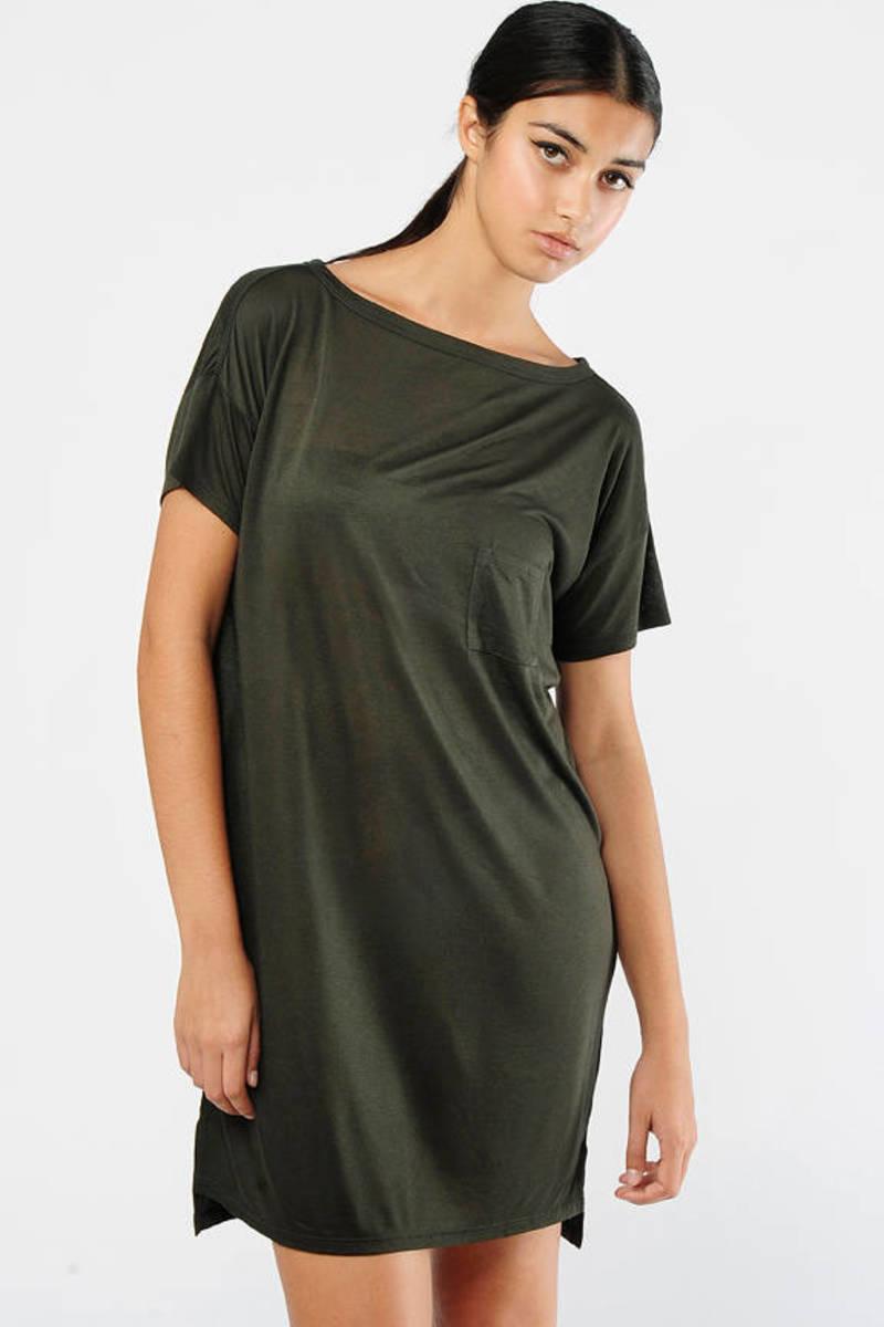 Green Shirt Dress Alexander Wang Shirt Dress Oversized Green