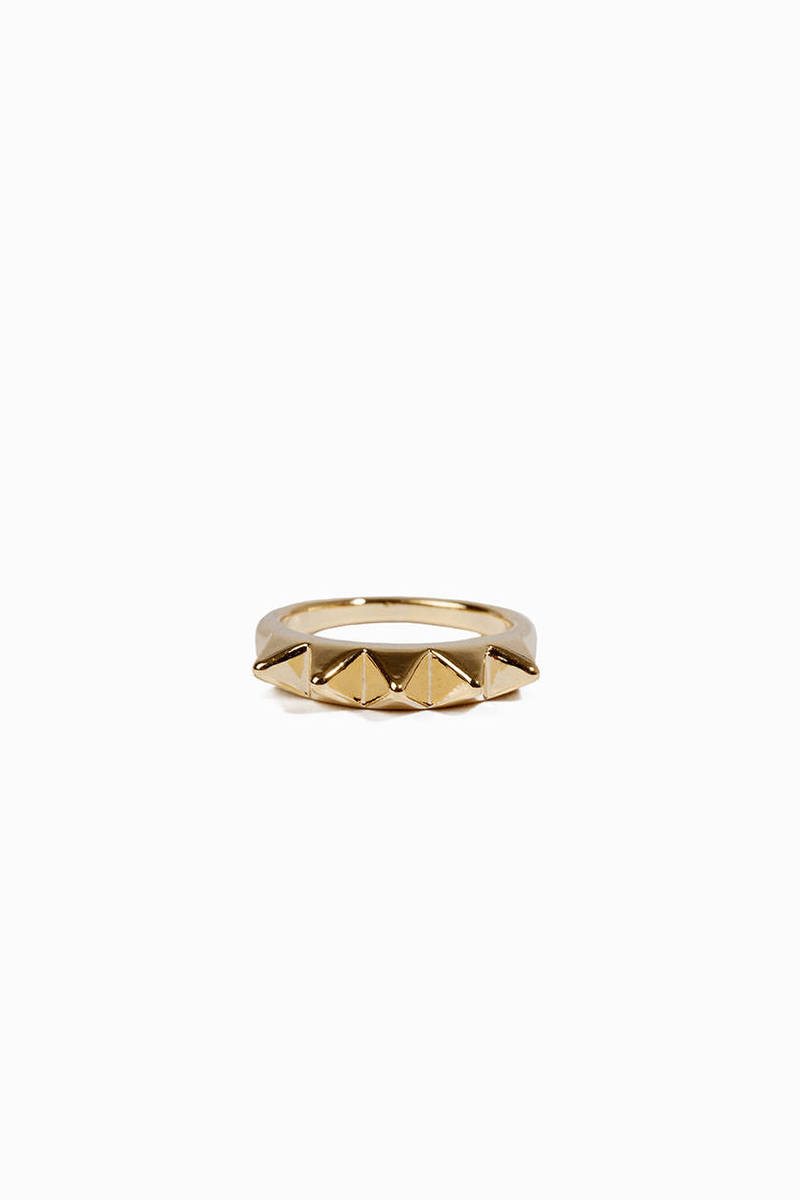 5 Spike Ring