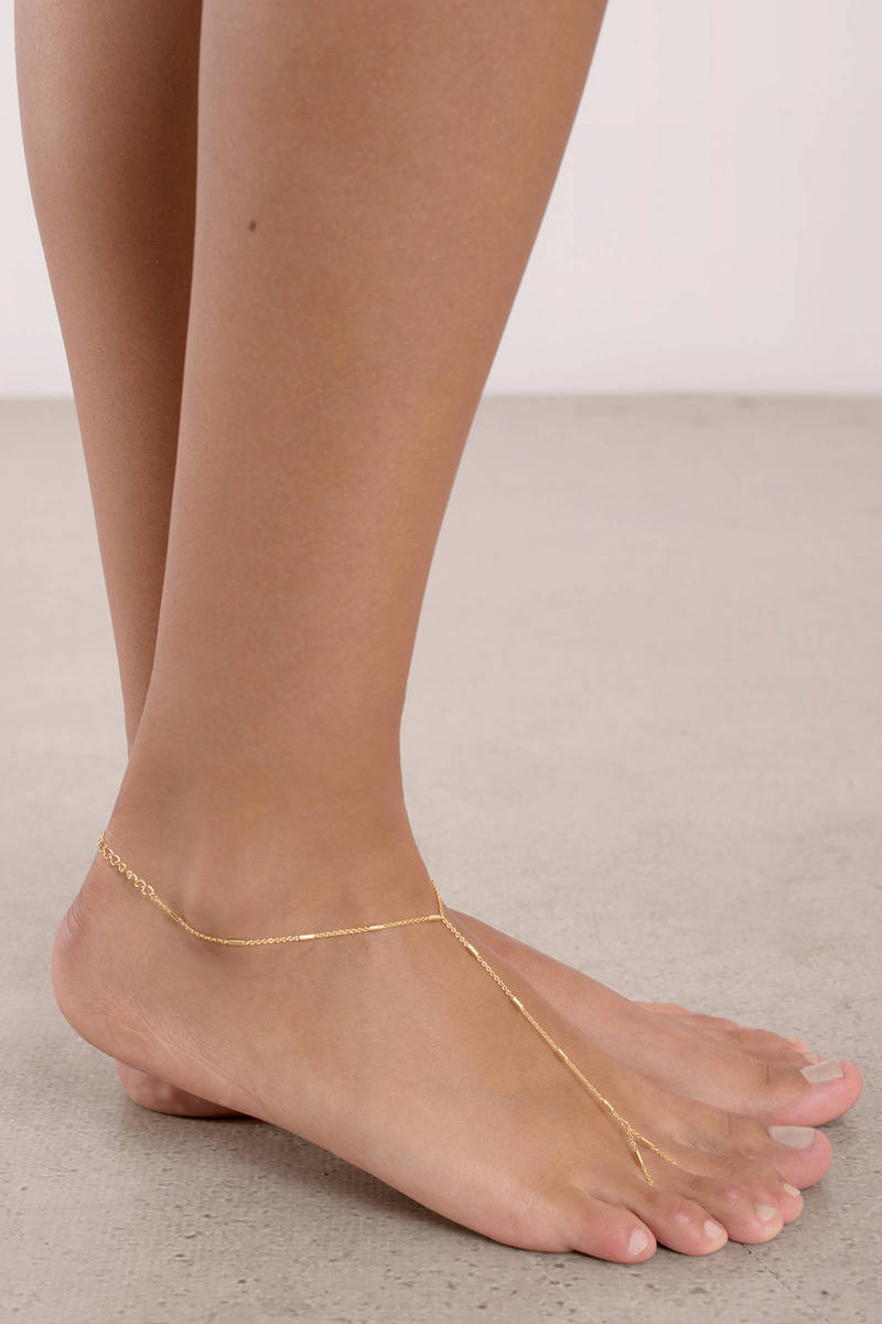 Aliyah Silver Chain Anklet