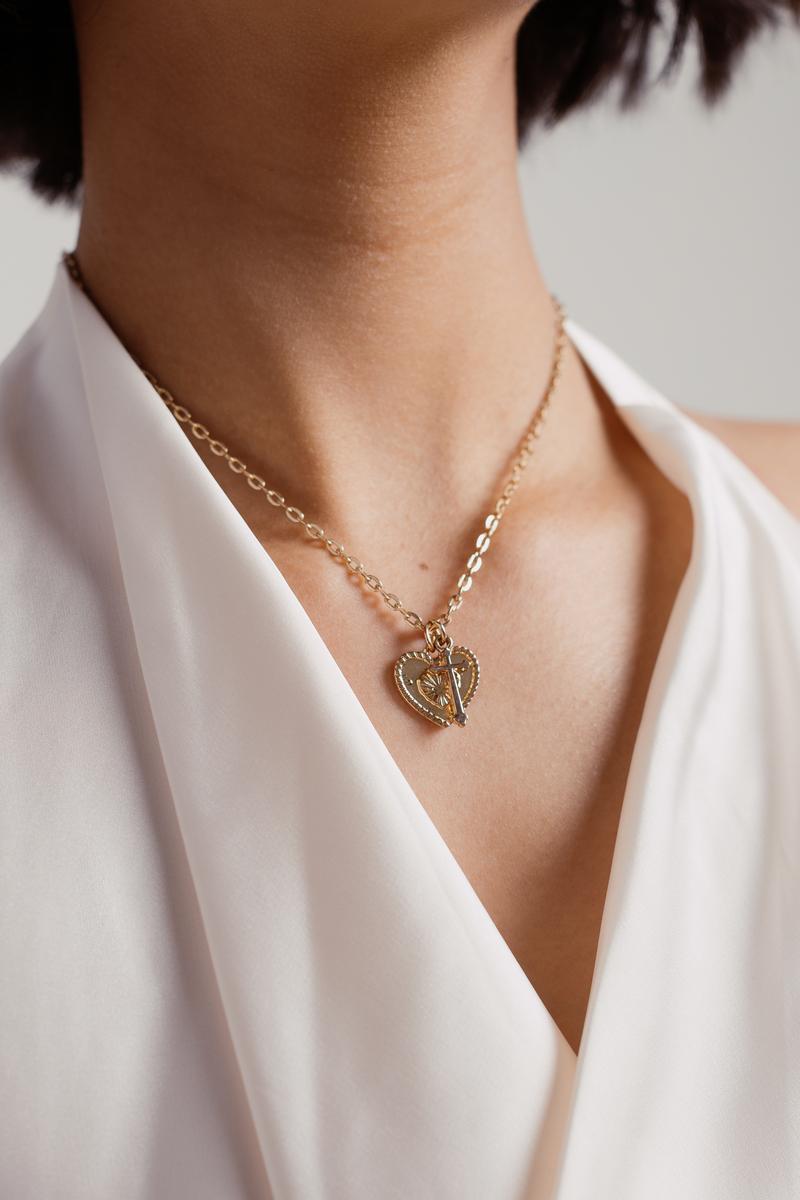 c7d6fb773905de Gold Necklace - Boho Necklace - Gold Trendy Necklace - $3 | Tobi US