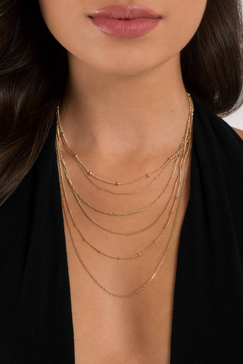 Claudia Gold  Layered Necklace