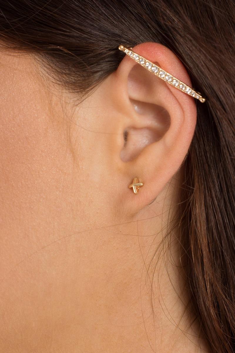 Cleopatra Gold Earring Set