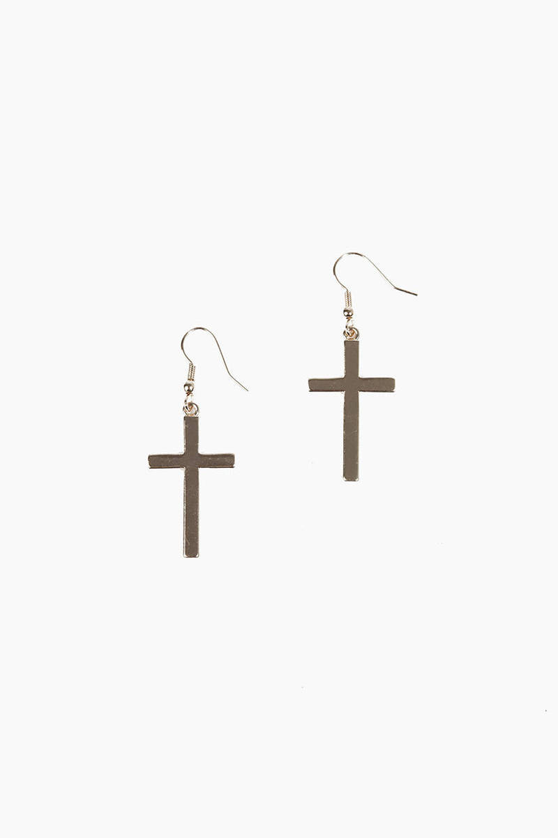 Emelia Cross Earrings