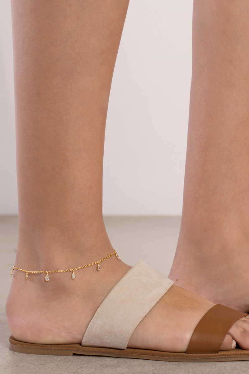 Haati Chai Haati Chai Florence Gold Anklet