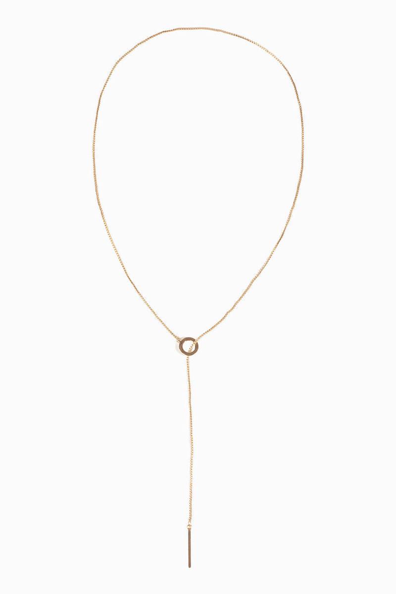 Full Circle Lariat Necklace