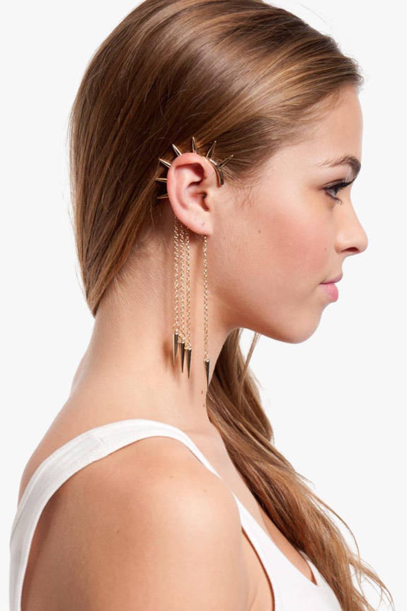 Hello Spike Ear Cuff