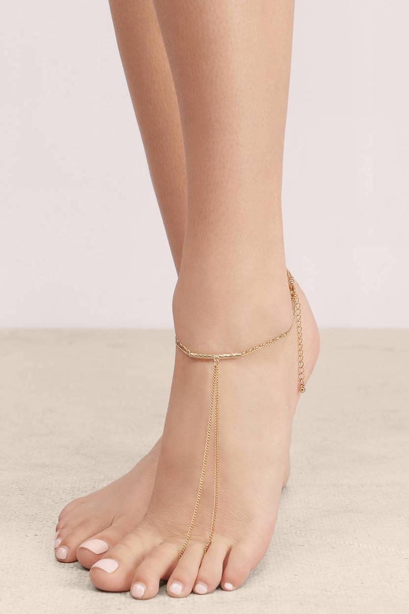 Kim Chain Anklet
