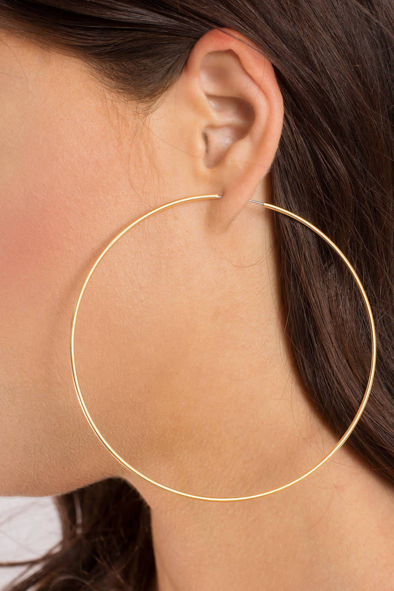 Not Your Mama's Gold Hoops