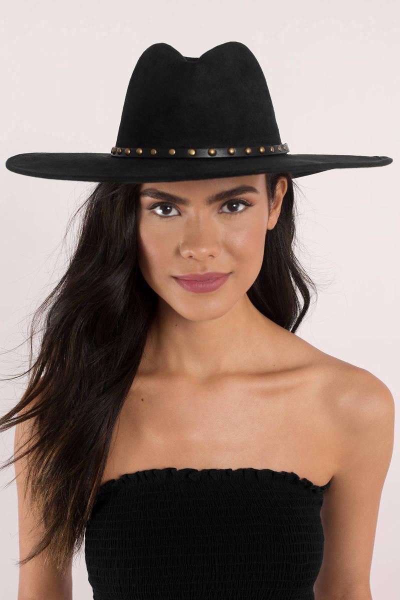 Raquel Gold Studded Hat