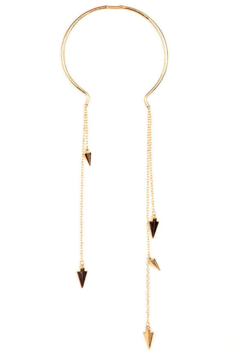 Spear Me Collar Necklace